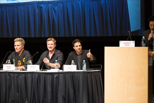 Denver Comic Con 2016 36 - Denver Comic Con 2016 at the Colorado Convention Center. Garrett Wang, Ralph Macchio, Martin Kove and William Zabka.