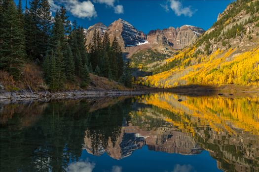 Preview of Maroon Bells and Maroon Lake No 2