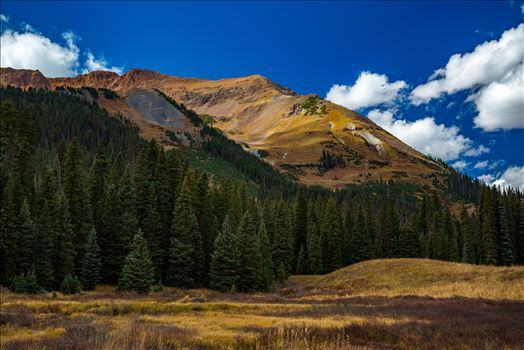 Mount Baldy from Gothic Road, north of Crested Butte.