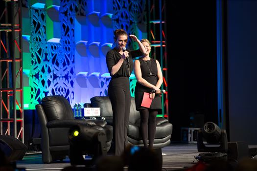 Denver Comic Con 2016 16 - Denver Comic Con 2016 at the Colorado Convention Center. Clare Kramer and Haley Atwell.