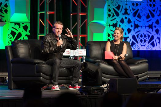 Denver Comic Con 2016 28 - Denver Comic Con 2016 at the Colorado Convention Center. Clare Kramer and Cary Elwes.