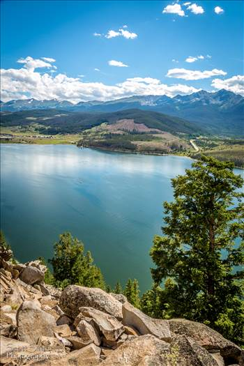 Preview of Lake Dillon from Sapphire Trail