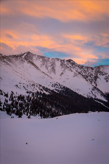 Summit County, Colorado - Winter at Sapphire Trail, Loveland Pass, Dillion Reservoir, Breckenridge and the continental divide.