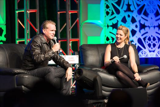 Denver Comic Con 2016 27 - Denver Comic Con 2016 at the Colorado Convention Center. Clare Kramer and Cary Elwes.