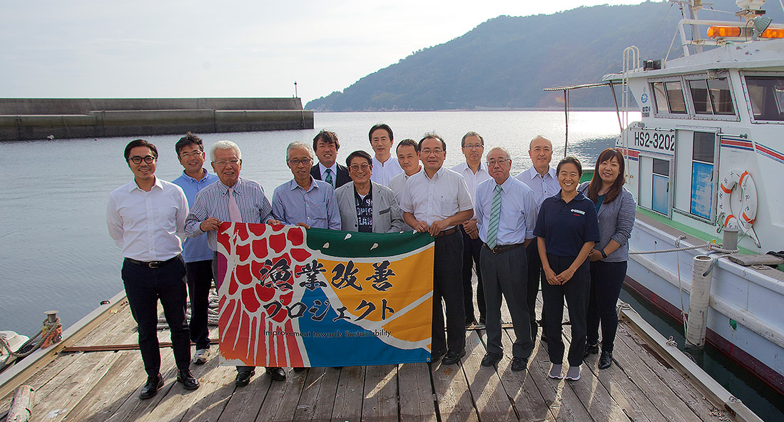First Oyster Fishery Improvement Project Launches in Japan