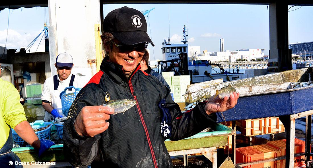 日本の漁業におけるトレーサビリティーを確立する