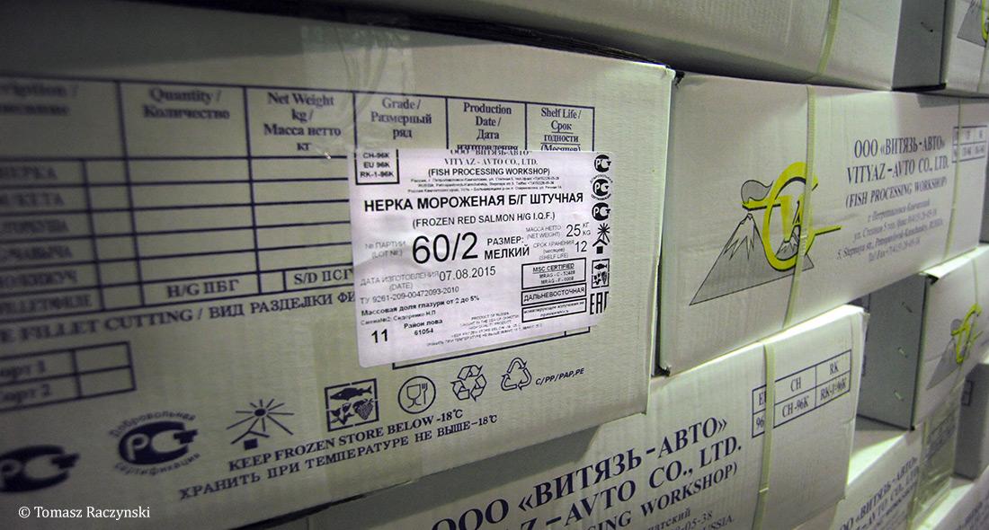 Russian MSC Certified Salmon