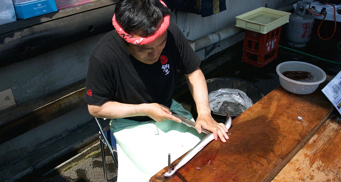 Japan seafood Doyo no Ushi no Hi unagi festival