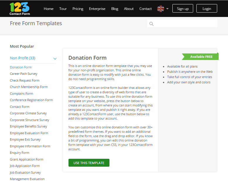 Non Profit Forms: Improving Your Online Fundraising Results