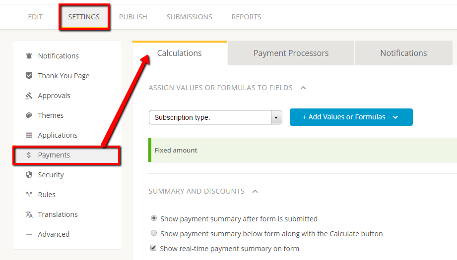 PayPal forms - adding price calculations