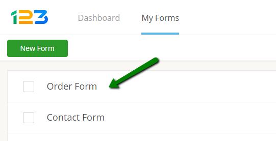 123formbuilder order forms