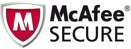 Spam and virus protected with McAfee