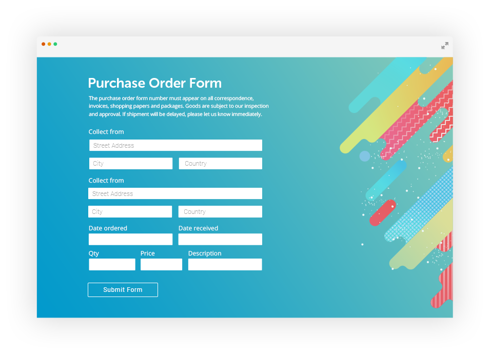 Paypal Order Form by 123FormBuilder