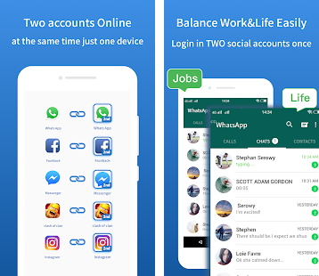 Multi Accounts Pro - Clone and run multiple accounts on your