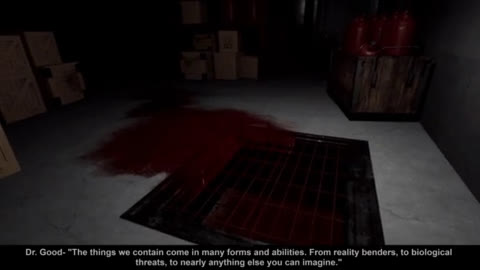 SCP: Blackout - Virtual Reality Horror game by Mahelyk