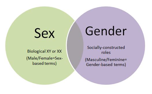 The difference between sex and gender very pity