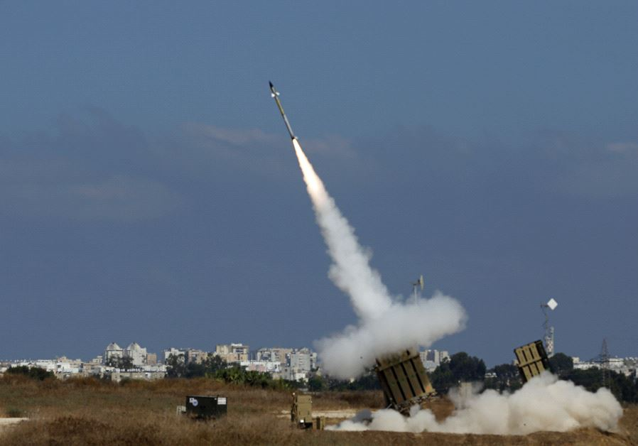 Israel's Iron Dome System Foils ISIS Rocket Attack