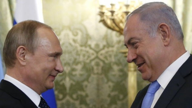 Netanyahu Flies to Moscow to Discuss Iran with Putin