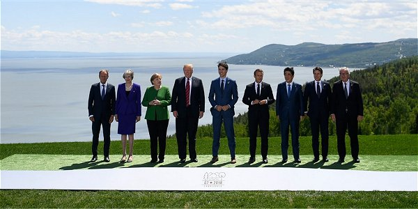 "THE EU CRASHES THE ""G-7"" MEETING IN CANADA"