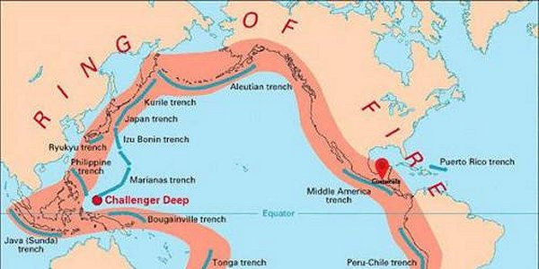 "RASH OF LARGE PACIFIC RIM QUAKES; IS ""THE BIG ONE"" IMMINENT?"