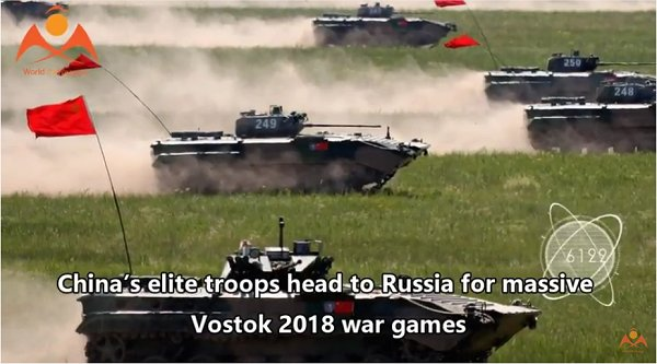 RUSSIA AND CHINA HOLD LARGE WAR GAME EXERCISE