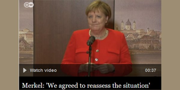 GERMAN GOVERNMENT SLIDING TOWARD COLLAPSE?