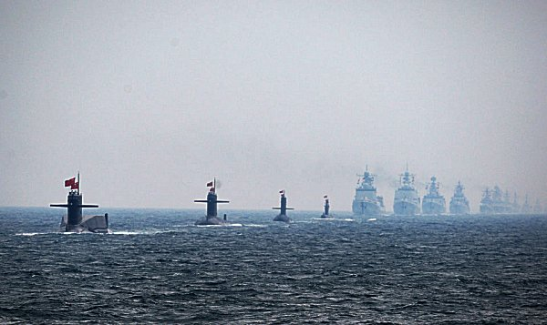 AMERICAN-CHINESE NAVAL CONFRONTATION NOW PENDING?