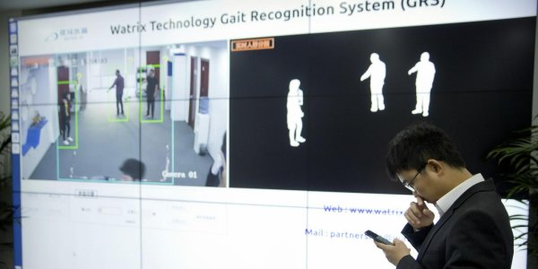 """CHINA'S """"GAIT RECOGNITION"""" TO SUPPLEMENT FACIAL RECOGNITION  and  """"THE MARK OF THE BEAST"""""""