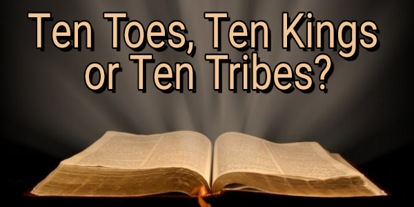 "DO THE ""TEN TOES"" OF DANIEL 2 = THE ""TEN HEADS"" OF REVELATION 17?"