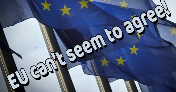 THE EU NATIONS STILL PULLING APART