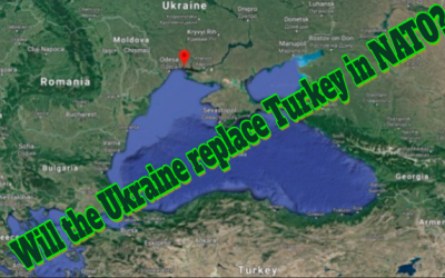 AS TURKEY DRIFTS OUT OF NATO, THE UKRAINE PREPARES TO JOIN IT