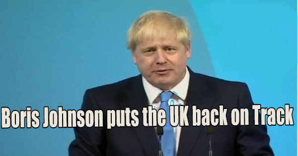 BORIS JOHNSON READIES THE UK FOR A REAL BREXIT