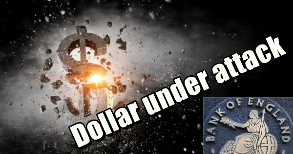 CENTRAL BANKER CALLS FOR END OF THE US DOLLAR AS GLOBAL RESERVE CURRENCY