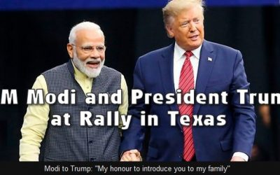 TRUMP-MODI RALLY IN TEXAS HIGHLIGHTS GROWING US-INDIA ALLIANCE