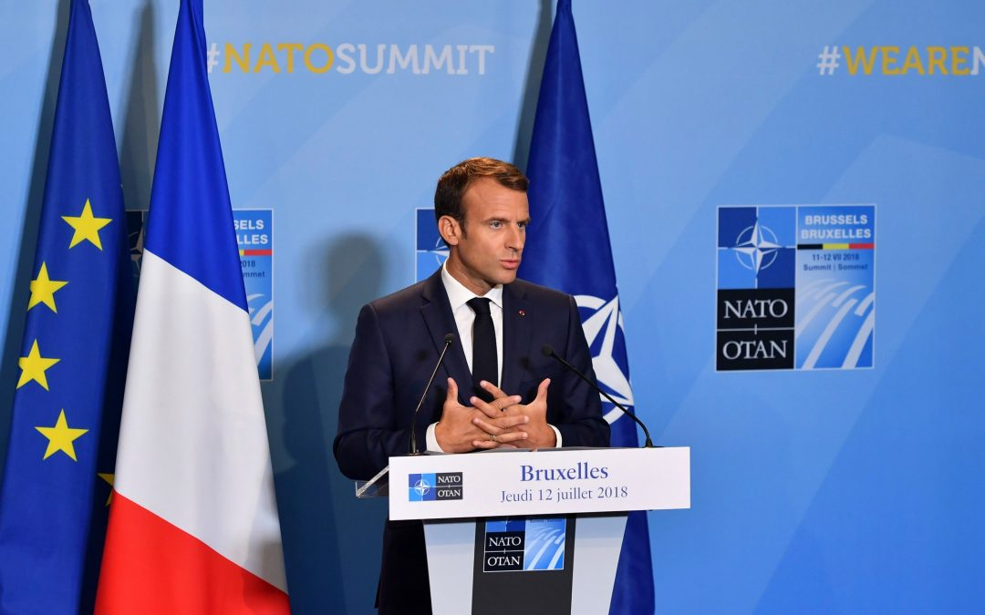 "MACRON SHOCKS EUROPE: DECLARES NATO TO HAVE ""BRAIN DEATH"""