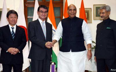 INDIA AND JAPAN TAKE STEPS TOWARD A FORMAL ALLIANCE