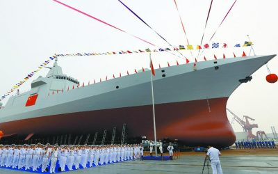 CHINA'S NAVY EXPANDS, SO WHO IS TRYING TO REDUCE THE US NAVY?