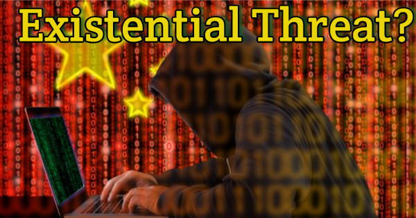 "CHINESE SPYING IN USA IS AN ""EXISTENTIAL THREAT"""