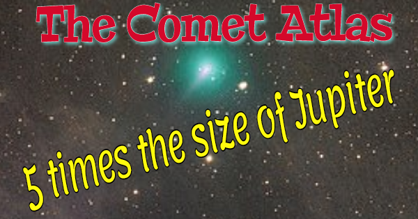 ARE YOU READY FOR THE HEAVENLY DISPLAY COMING WITH COMET ATLAS?