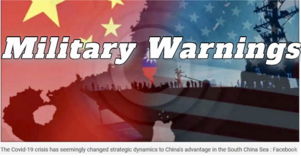 USA AND JAPAN SEND LARGE MILITARY WARNING TO CHINA