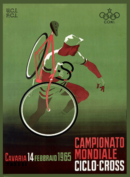 1965 Ciclo Cross Champ poster