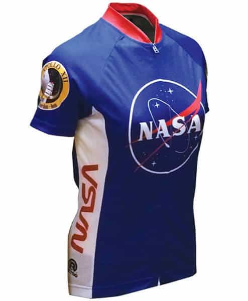 Retro Cycling Jersey Womens - NASA - Retro Image Apparel