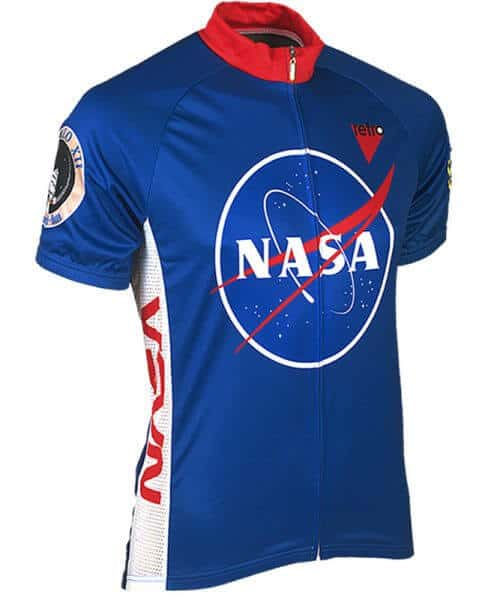 Retro Cycling Jersey Mens - NASA - Retro Image Apparel