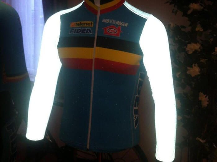 reflective cycling clothing
