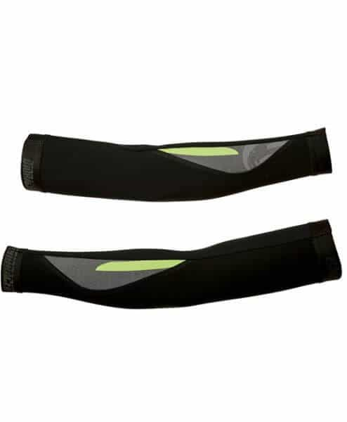 orkaan cycling arm warmers by stolen goat - green