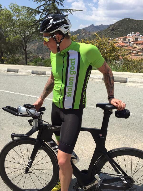 f52bbce094f Meet Aled Jones  Sponsored stolen goat Rider   Triathlete
