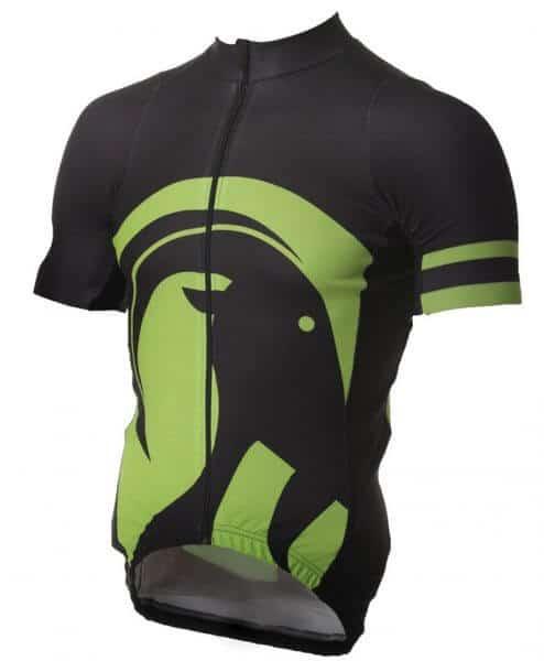 stolen goat Ibex jersey - team green - front