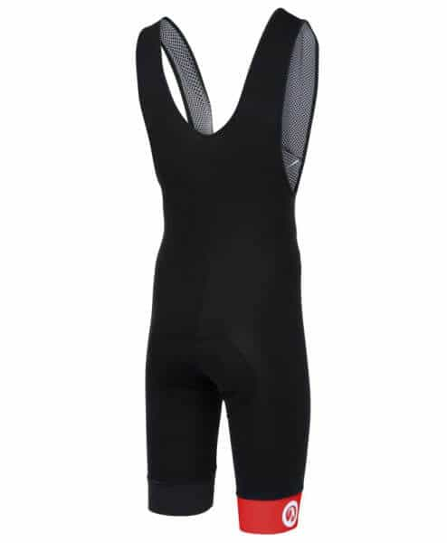 stolen goat bodyline one bibshorts red back