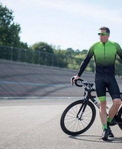 stolen goat long sleeve thermal cycling jersey