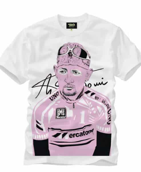 Marco Pantani Cycling T-shirt - Heroes Special Edition stolen goat